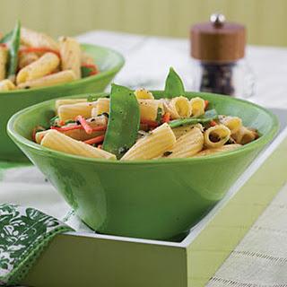 Lemon Veggies and Pasta
