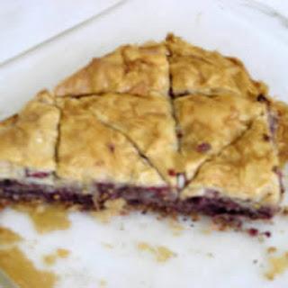 Cranberry Baklava
