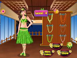 Screenshot of hawaii bathing girls games
