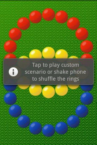 Hungarian rings - screenshot