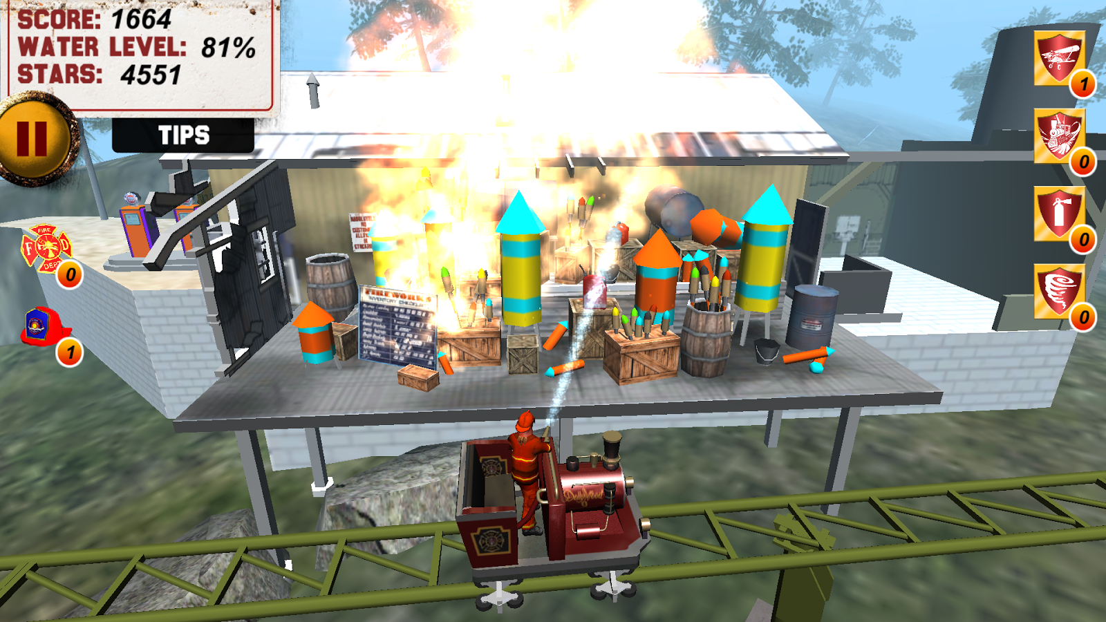 FireChaser Express- screenshot