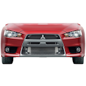 Evo X  battery widget logo
