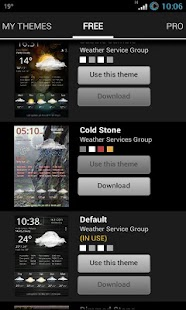 Weather Services PRO - screenshot thumbnail