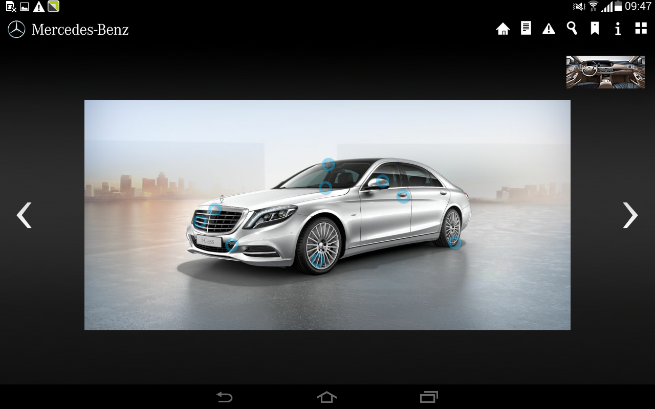 Mercedes benz guides china android apps on google play for Mercedes benz apps