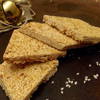 Sesame Seed Nougat (or Confetto di Giuggiulena).