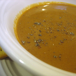 "Sweet and ""Creamy"" Pumpkin Soup"