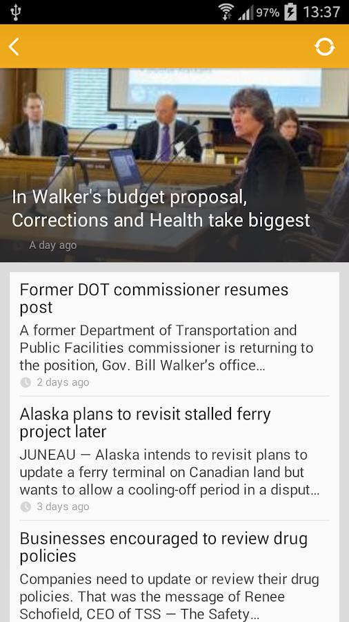 AK State Legislature Guide - screenshot