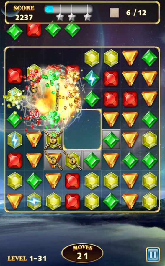 Jewels Star 3 - screenshot
