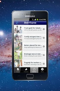 Daily Express Sabah- screenshot thumbnail