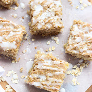 Banana Pineapple Oatmeal Breakfast Bars.