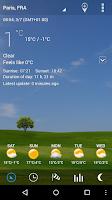 Screenshot of 3D Flip Clock & World Weather