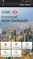Screenshot of HSBC Kurumsal Mobil Bankacılık