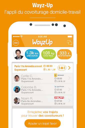 Wayz-Up Covoiturage quotidien