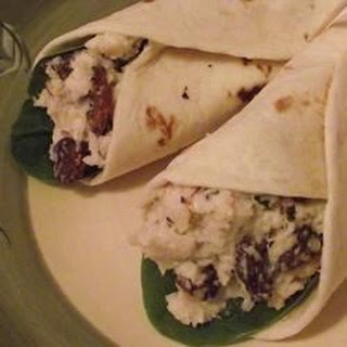 Turkey and Grape Wraps.