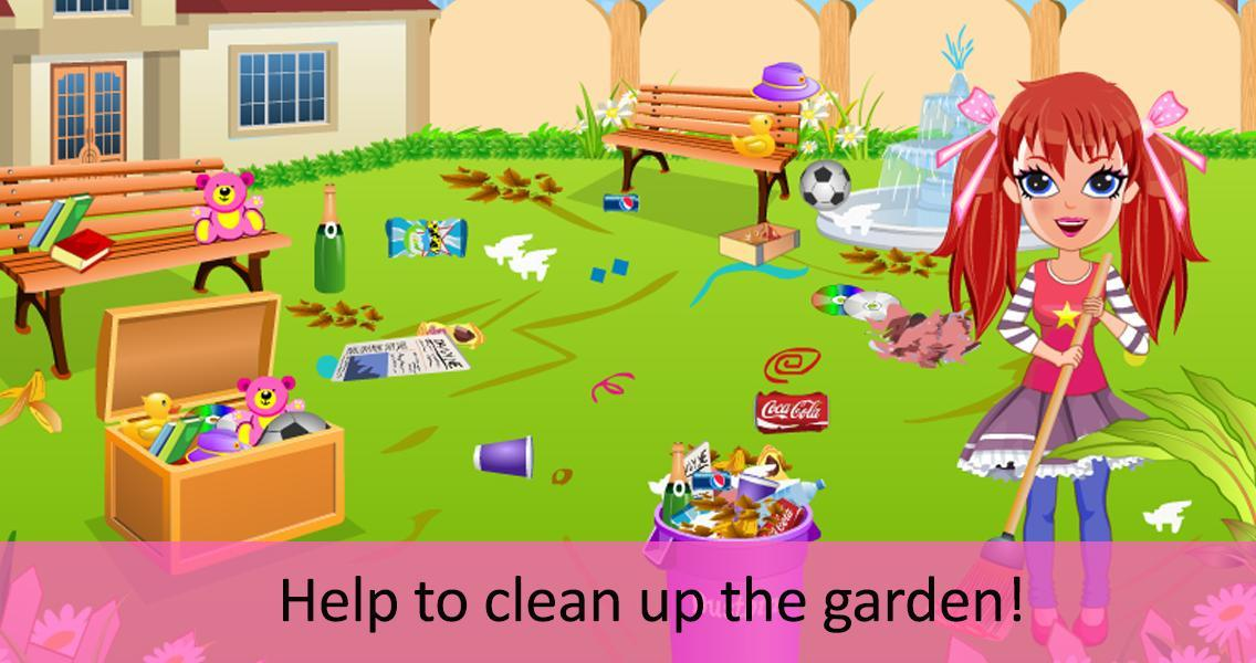 Alice messy house clean up- screenshot