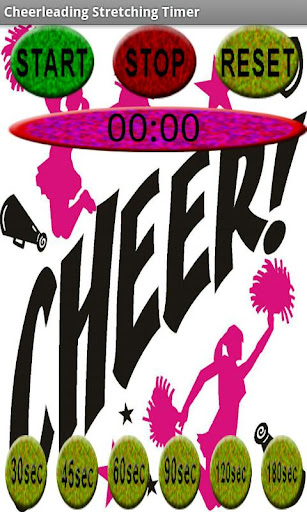 Cheerleading Stretching Timer