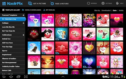 KoolrPix Studio Image Editor Screenshot 2