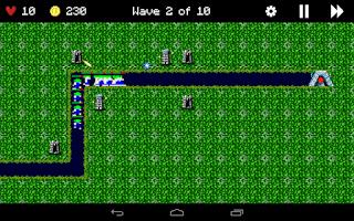 Screenshot of Lemmings Defense