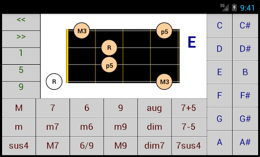DG Bass Chord Patterns