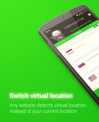 Screenshots #3. VPN / Android