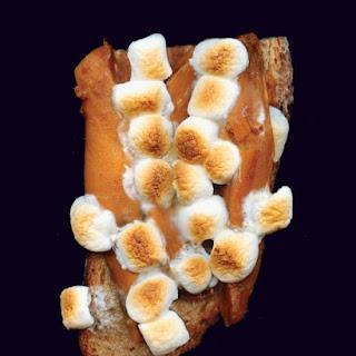 Sweet Potato and Marshmallow Sandwich
