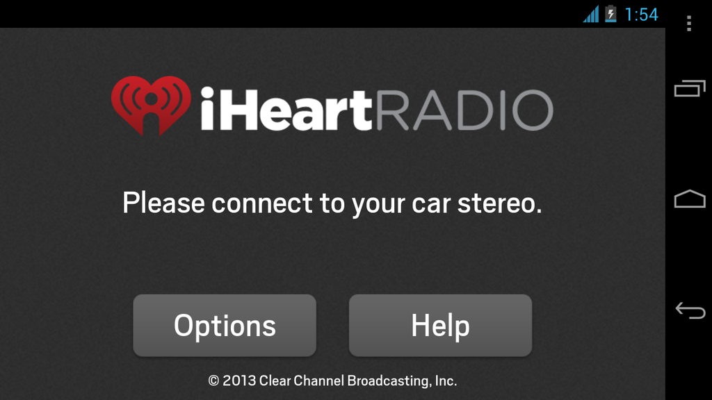 iHeartRadio for Auto - screenshot