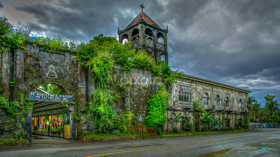 The Ruins  Patnongon Church by Nick Foster - Buildings & Architecture Public & Historical ( spanish, church, old town, historical, philippines )