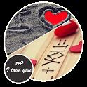 صور رومانسية I love you icon