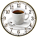 Coffee Break clock widget logo
