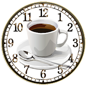 Coffee Break clock widget