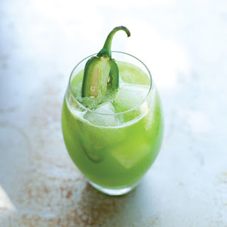 Spicy Kale-Cucumber Juice