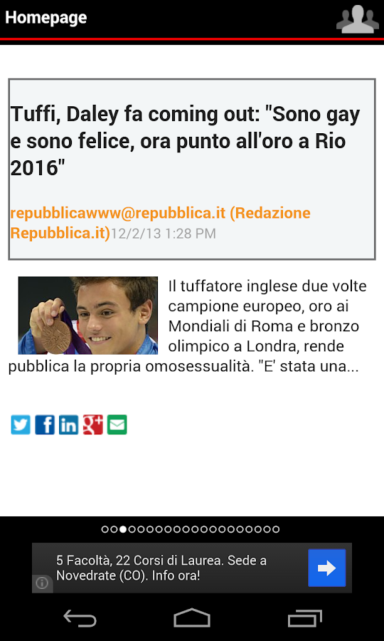 Quotidiani Italiani+- screenshot