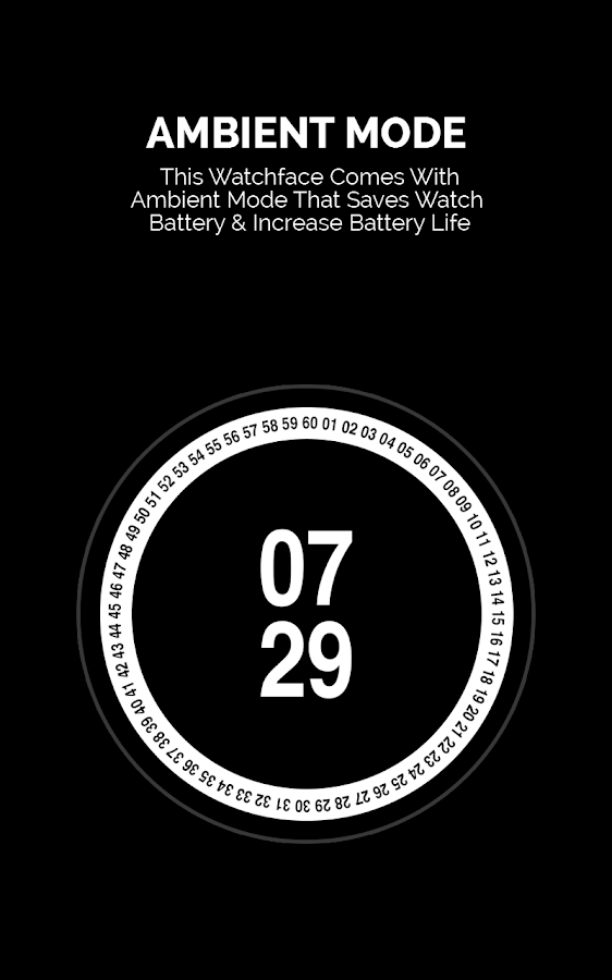 Rotate Watch Face- screenshot