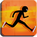 Stickman Runner mobile app icon