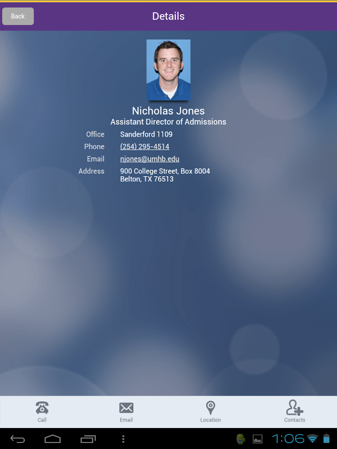 UMHB Cru Mobile - screenshot