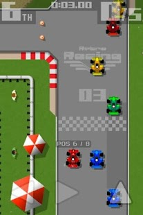 Retro Racing Screenshot 1