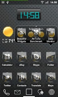 Sense ADW Theme HD - screenshot thumbnail