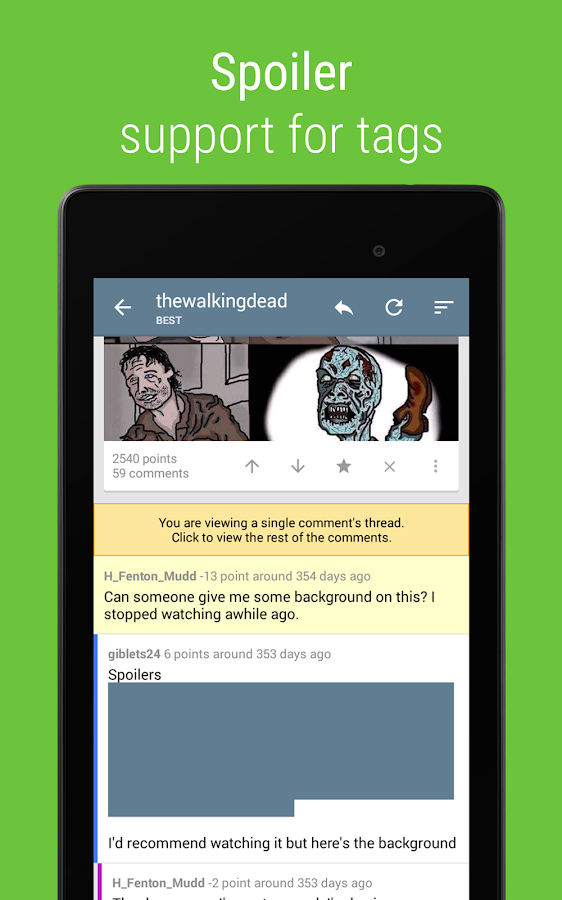 Sync for reddit (Dev)- screenshot
