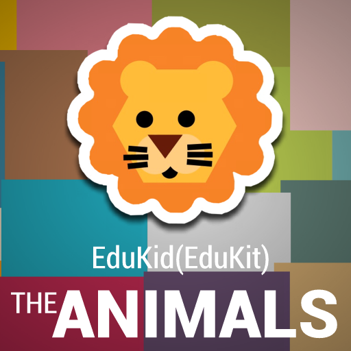 EduKid - The ANIMALS FULL LOGO-APP點子