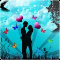 Romantic love Wallpaper logo