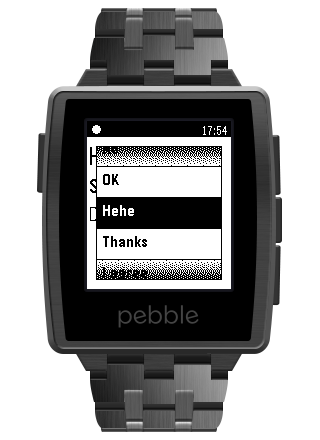 Notification Center for Pebble- screenshot