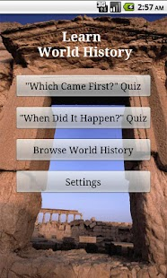 Learn World History (Free)- screenshot thumbnail