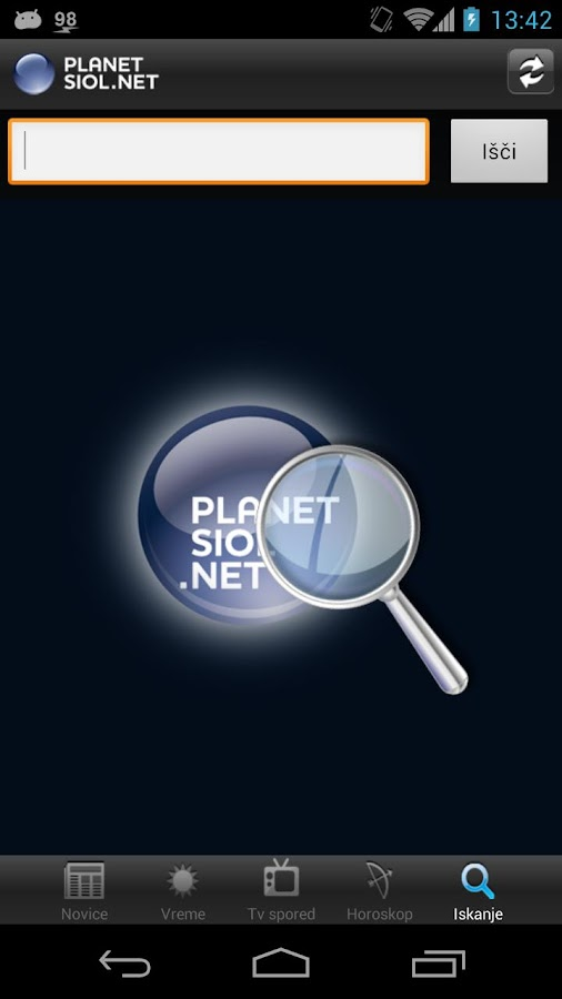 Planet Siol.net - screenshot