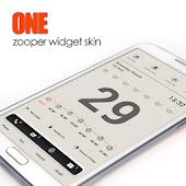 One Zooper Widget Skin
