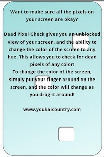 Dead Pixel Check Free - screenshot thumbnail