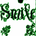 Smile Glitter Green Live Wallp logo