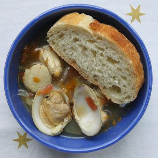 Bouillabaisse with Garlic Roux
