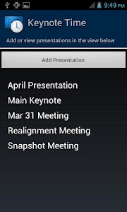 Keynote Time screenshot 1
