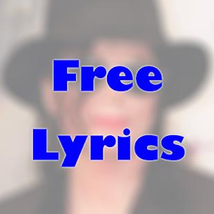 MICHAEL JACKSON FREE LYRICS   FREE Android app market