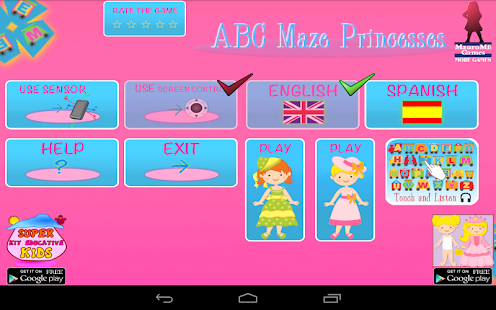 ABC Maze of Princesses - screenshot thumbnail